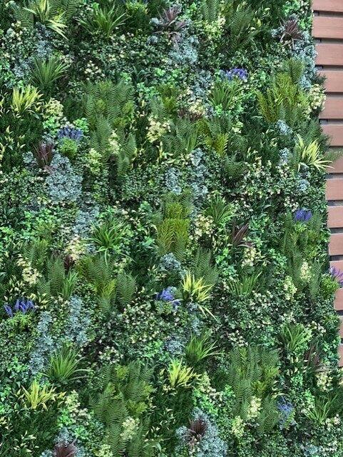 Artificial grass Feature wall