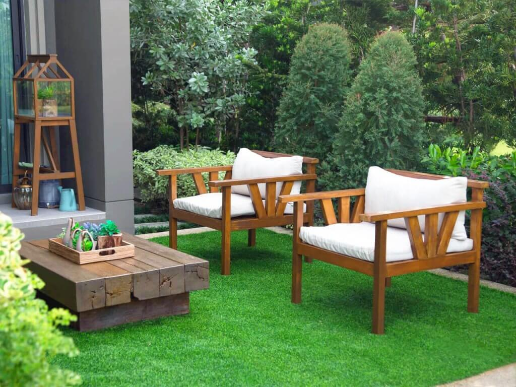 Norfolk VA Artificial Grass Seating Areas